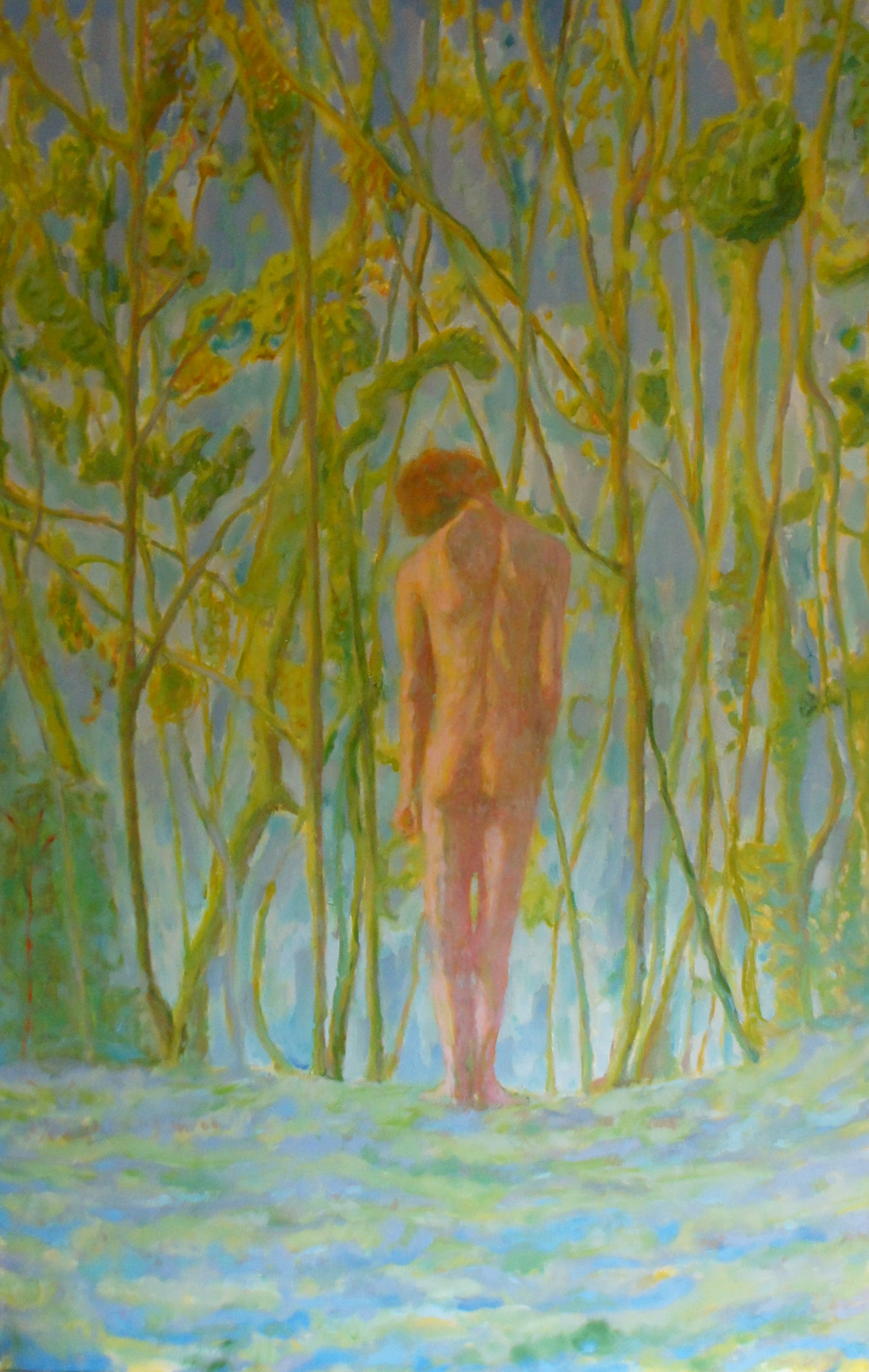 Young Man in Front of Trees – Roland F A  McMorran