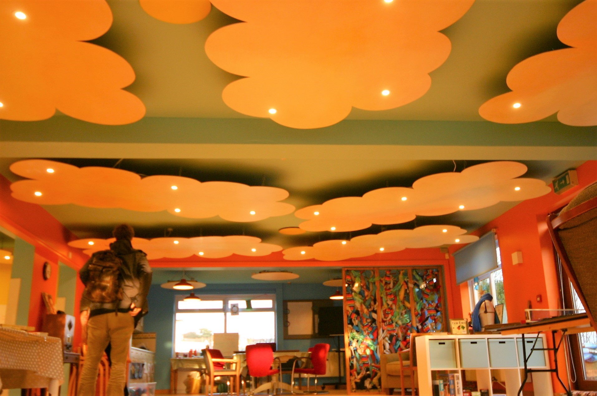 main space ceiling